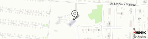 Донецкий специализированный дом ребенка на карте Макеевки
