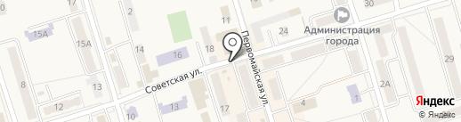 Магазин ковров на карте Болохово