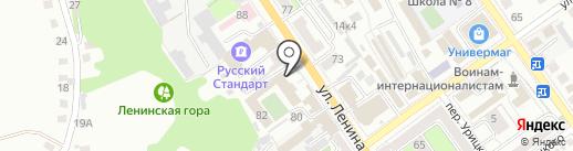 Столовая, Старооскольский кооперативный техникум на карте Старого Оскола
