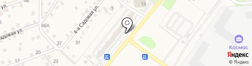 Магазин продуктов на карте Домодедово