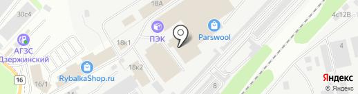 ЛИГА-М на карте Дзержинского