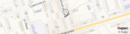 ЛаНа на карте Болохово