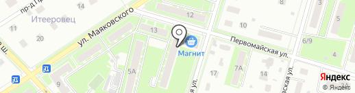 Макди на карте Пушкино
