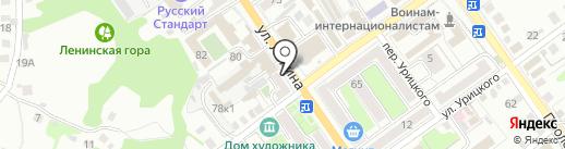Кафетерий на ул. 9 Января, 10 на карте Старого Оскола