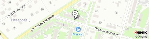 Уголовно-исполнительная инспекция УФСИН России по Московской области на карте Пушкино