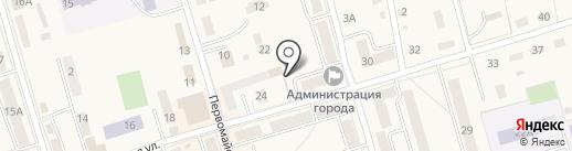 Администрация муниципального образования г. Болохово Киреевского района на карте Болохово
