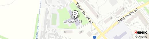 Средняя общеобразовательная школа №22 на карте Королёва