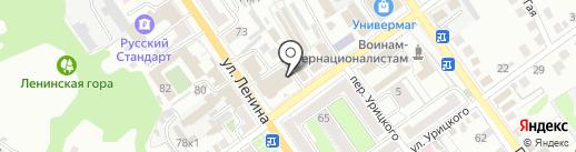 РТВ, ЗАО на карте Старого Оскола