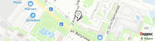 Южный-Жилье, ТСЖ на карте Старого Оскола