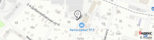 Авто-Пушкино на карте Пушкино