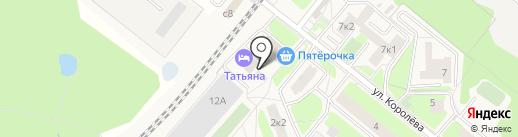Форвард Транс на карте Домодедово