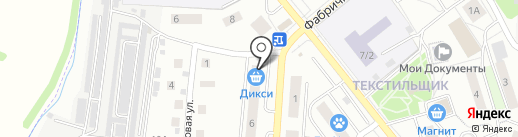 Магазин домашнего текстиля на карте Королёва