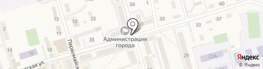Магазин продуктов на карте Болохово