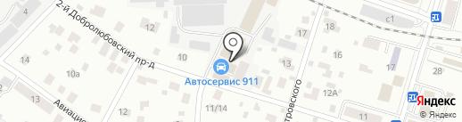 Мастер Стиль на карте Пушкино