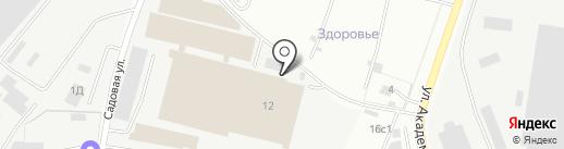 Alpla на карте Дзержинского