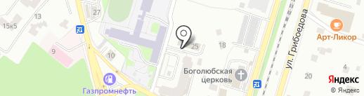 ПРОФИТ на карте Пушкино