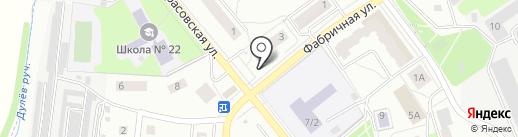 Киоск хлебобулочных изделий на карте Королёва