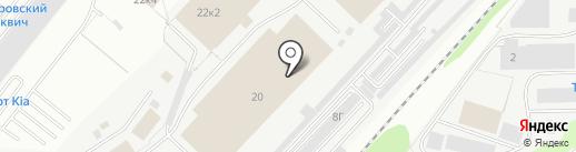 Новый Свет на карте Дзержинского