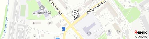 Магазин овощей и фруктов на карте Королёва