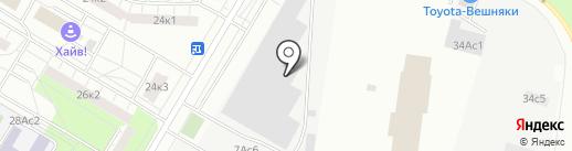 Лига Металла на карте Москвы