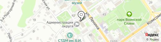 Мобилизационный отдел Администрации Старооскольского городского округа на карте Старого Оскола