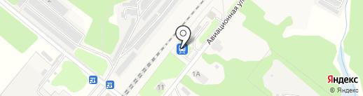 Авиационная на карте Домодедово