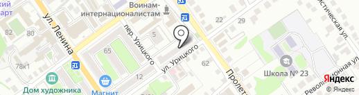 ЖЭУ №9 на карте Старого Оскола