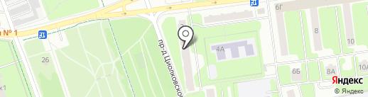 Мосремхолдинг на карте Королёва
