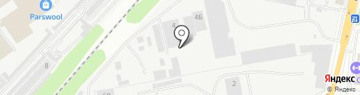 Белфанера на карте Дзержинского