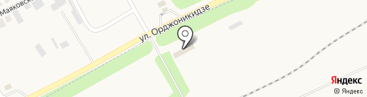 Отдел регистрационно-экзаменационной работы г. Ясиноватая на карте Ясиноватой