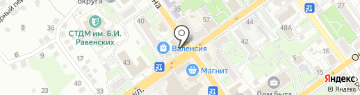 Банкомат, БИНБАНК кредитные карты на карте Старого Оскола
