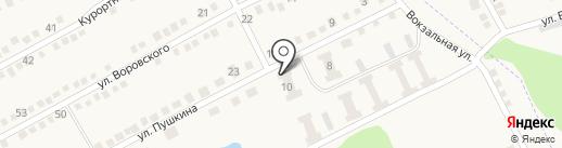 Отделение связи №5 г. Ясиноватая на карте Ясиноватой