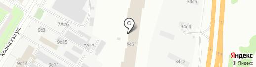 Licenzia.moscow на карте Москвы