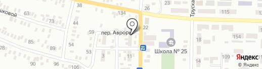 Стильный дворик, студия красоты на карте Макеевки