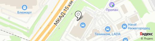 Банкомат, Промсвязьбанк, ПАО на карте Котельников