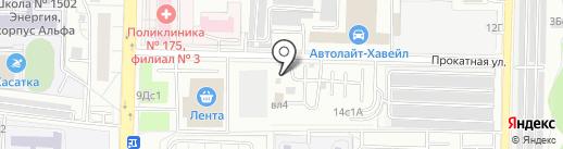 МЕД-Экспо на карте Москвы
