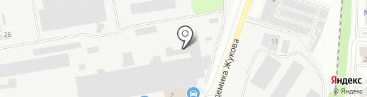Razborkino.ru на карте Дзержинского
