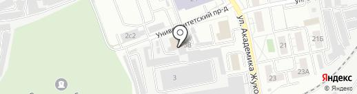 Промприбор на карте Дзержинского