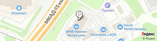 Независимость BMW на карте Котельников