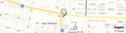 Донавтокомплект на карте Макеевки
