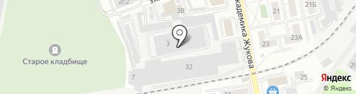 Магазин межкомнатных дверей на карте Дзержинского