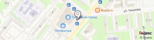 DNS на карте Домодедово