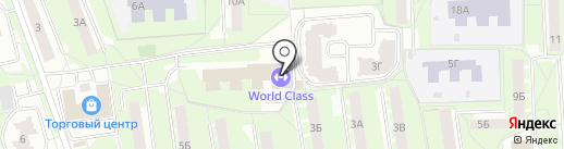World Class Lite на карте Королёва