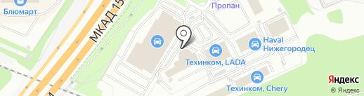 Тринити Car на карте Котельников