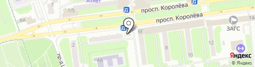 Баржа на карте Королёва