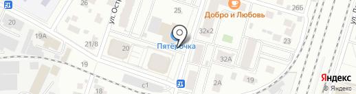 Виктория на карте Пушкино