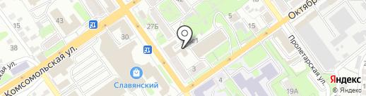 Юридическая консультация на карте Старого Оскола