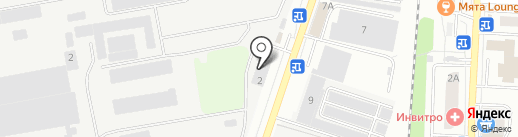 Меткомцентр на карте Дзержинского