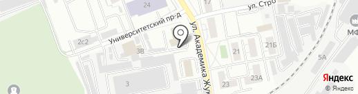 Пожарная часть №11 на карте Дзержинского