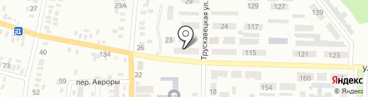 Промінь на карте Макеевки